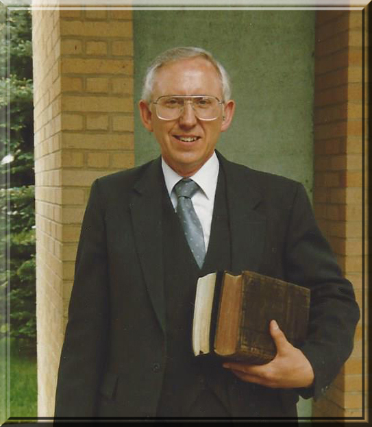 Pastor Thomas Corkish framed